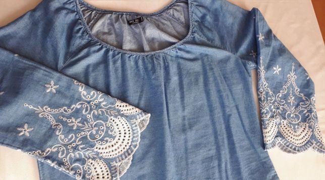 Sukienka jeansowa MAX JEANS rozm. M