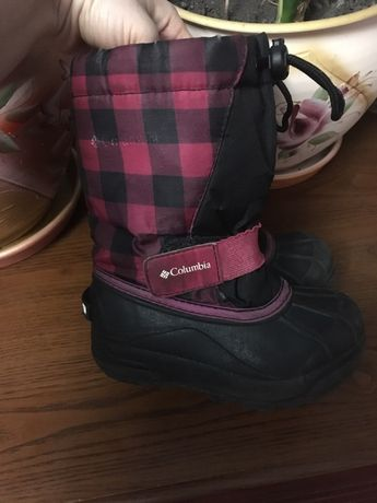 Зимние сапоги сноубутсы черевики зимові Columbia