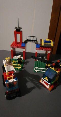 Lego 6554 baza helikopter, auto,