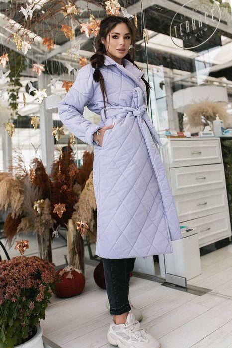 Элегантное  Стёганное стильное Зимнее Пальто пуховик Одесса - изображение 1
