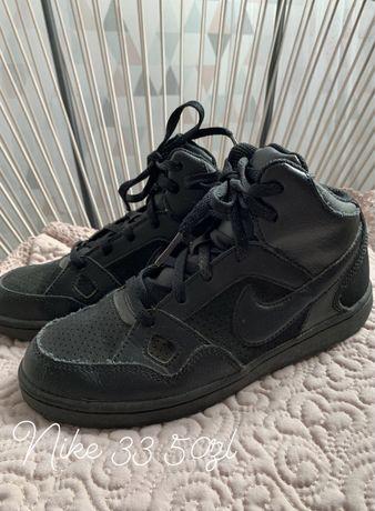 Nike buty sportowe za kostkę czarne adidasy 33