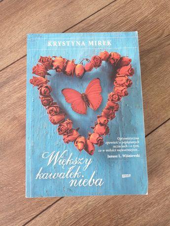 Książka Większy kawałek nieba K. MIREK