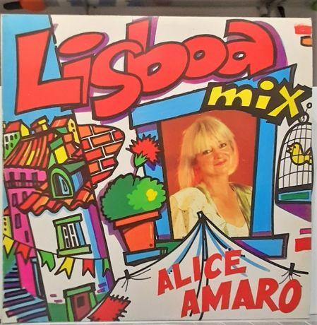 VINIL Lp Alice amaro Lisboa Mix 1990 Portugal ver fotos
