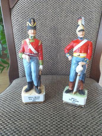 Marks & Rosenfel porcelanowe figurki żołnierzy 1815 r