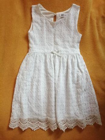 Sukienka h&m r. 122,128