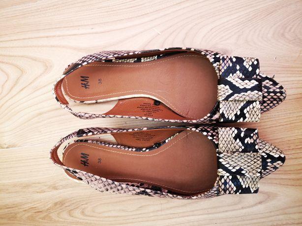 Sandały damskie hm