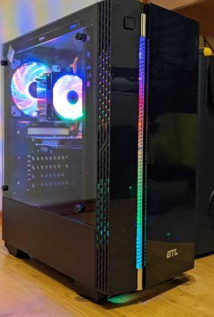 Игровой компьютер ПК (6 ядер / 12 потоков, 16 ГБ ОЗУ, RX 460 4 ГБ)
