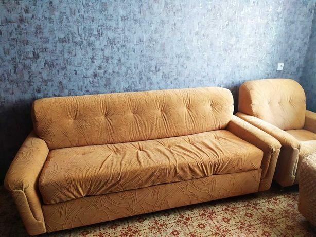 Акция! Мягкий уголок диван и 2 кресла в хорошем состоянии Болгария