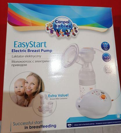 Laktator elektryczny Canpol Easy Start + akcesori