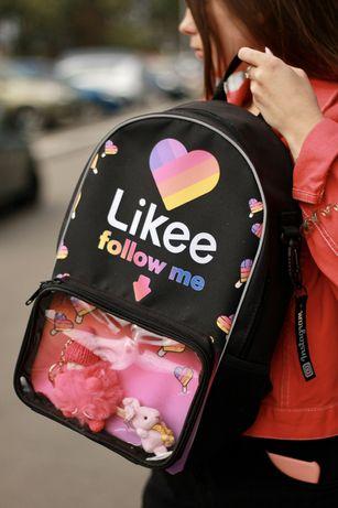 Рюкзак ранець молодіжний Тік Ток Tik Tok Instagram likee лайкі інста
