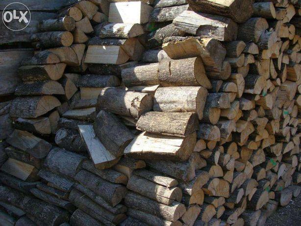 Drewno kominkowe cięte i łupane sezonowane
