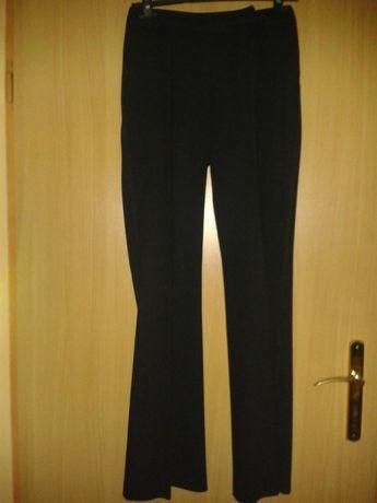 Spodnie eleganckie marks&spencer ciemny granat 36-38i