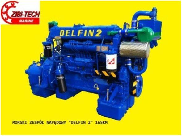 SILNIKI SW400 6CT-107 SW680 do kombajnów i kutrów, Delfin, Rekin