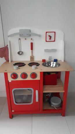 Kuchnia drewniana i akcesoria