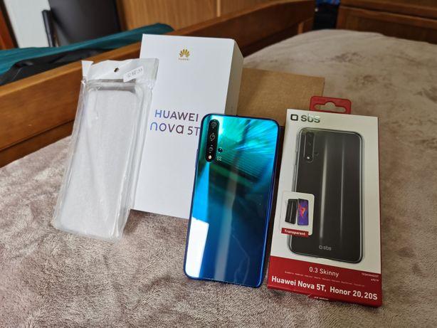 Huawei Nova 5T - 6GB/128GB - Crush Blue - Ler descrição