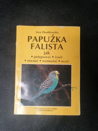 Papużka falista jak pielęgnować żywić oswajać rozmnażać uczyć