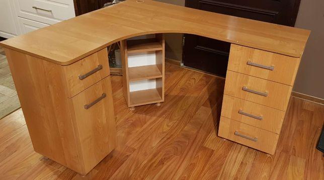 Solidne biurko narożne