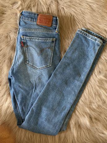 Levis jeansy skinny 711 W24 L30