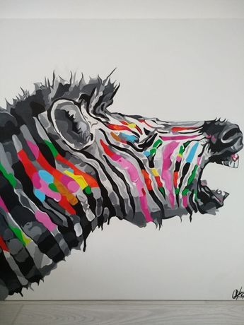 Продаю Современную  картину «зебра»