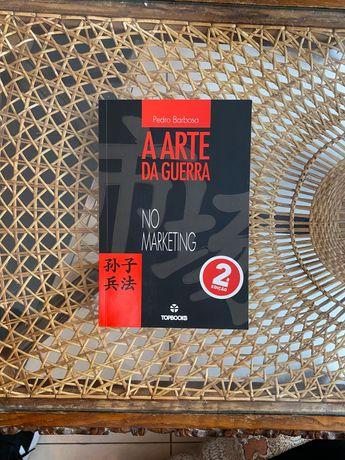 Livro A arte da guerra no Marketing de Pedro Barbosa