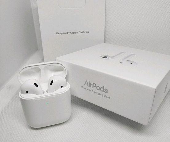 Наушники Apple AirPods 2 беспроводные 1 к 1 с оригиналом