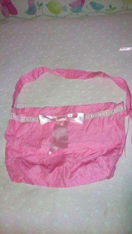 Conjunto (Forra pés alcofa + bolsa maternidade em tecido)