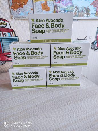 Мыло для лица и тела,мыло с авокадо  Forever