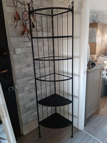 Regał Ikea czarny