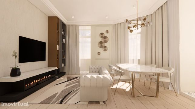 Príncipe Real | T1 com 56,47 m2 no Empreendimento MT. Premier Laurel