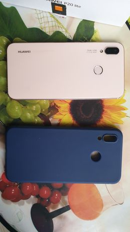 Huawei p20 lite+etui+szklo hartowane