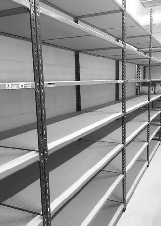 Regał sklepowy magazynowy garażowy warsztatowy 198/153/92/6P/134kg