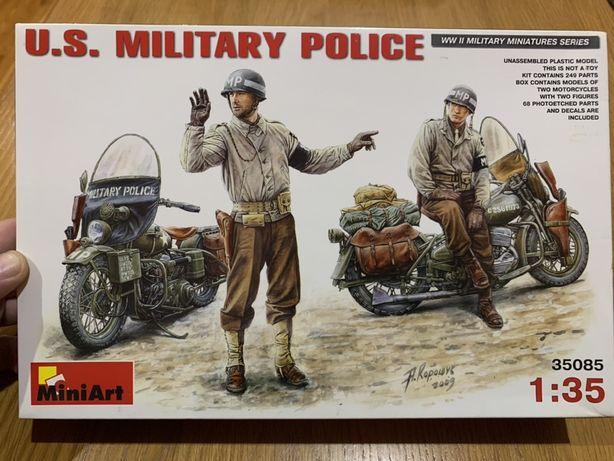 Сборная пластиковая модель Американская военная полиция Miniart,1/35