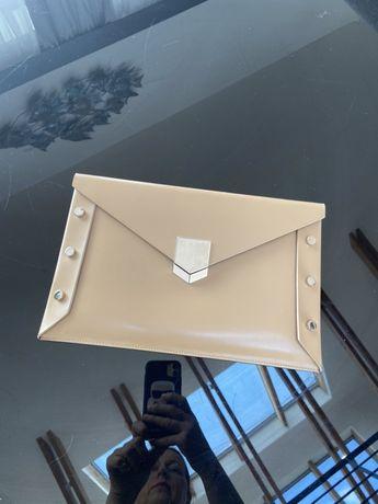 JIMMY CHOO torebka -kopertówka z certyfikatem