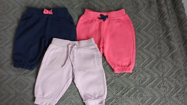 Zestaw 3 par spodni dresowych roz 62 Cool Club. F&F