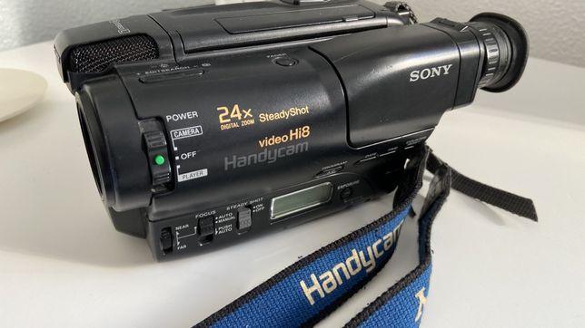 Câmara de Video SONY Handycam hi8 24x