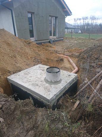 Zbiorniki betonowe szambo szamba betonowe piwniczki betonowe Wrocław