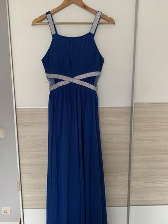 Vestido Cerimonia Azul