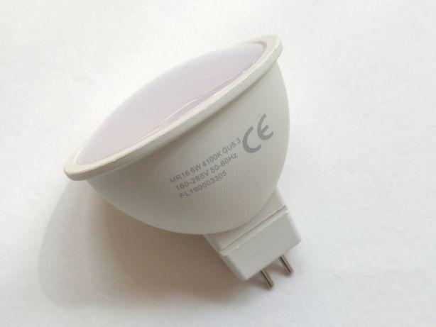 Светодиодная энергосберегающая лампа MR 16 6W цоколь G5.3 220 Вт