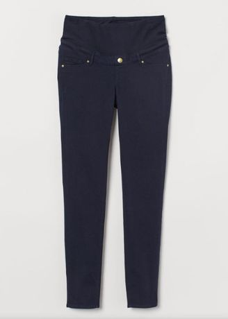 H&M MAMA Spodnie superstretch r. 40