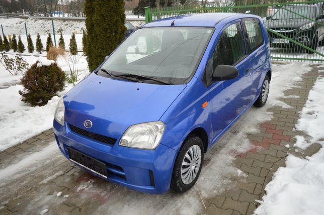 Daihatsu Cuore 1.0 12V 58 KM Klima 2x komplet kół Zadbany