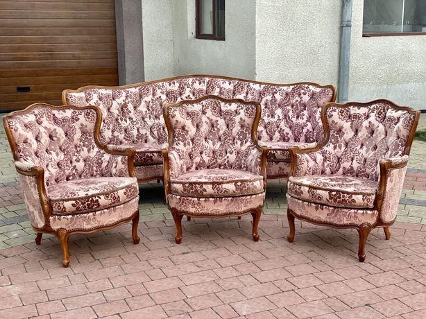 Комплект Барокко, диван барокко, крісла бароко, меблі з Європи