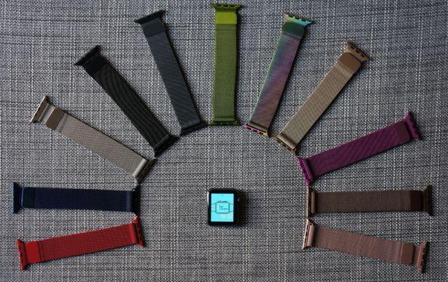 Bransoleta Apple Watch/ iwatch/ 39 kolorów wszystkie generacje/38-44mm