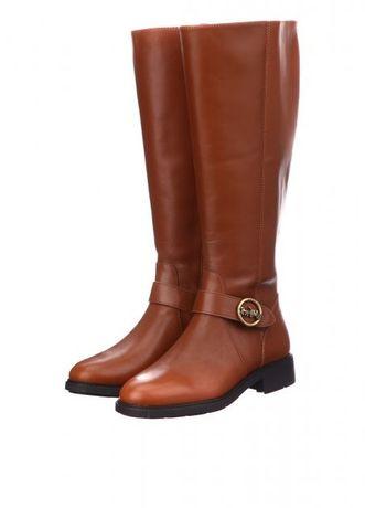 Нереально красивые кожаные сапоги COACH 35