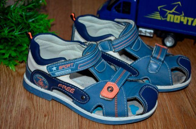 Босоножки, сандали для мальчика на липучках