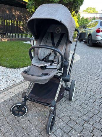 Wózek Cybex Priam gondola+spacerówka manhattan grey