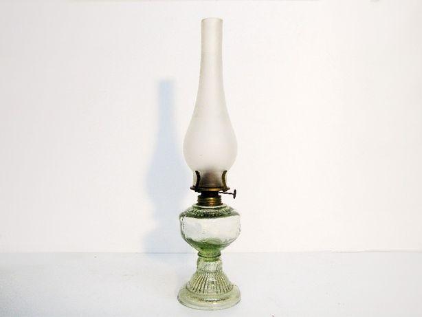 ~* Lampka naftowa * ładna szklana *~