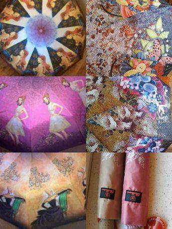 Распродажа!!! Женские и мужские зонты полуавтомат. Разные!!!