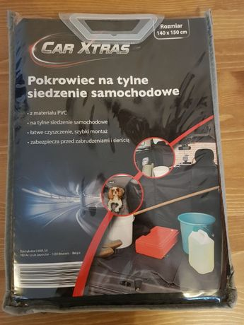 NOWY Pokrowiec na tylne siedzenie do auta Car Xtras 140x150 cm Aldi