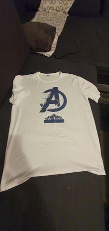 Koszulka/ tshirt biały męski