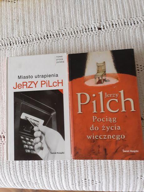 2 książki Jerzy Pilch